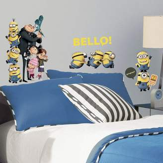 Roommates Despicable Me 2 Peel & Stick Wall Decals