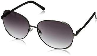 Elie Tahari Women's EL 145 OXSL Round Sunglasses