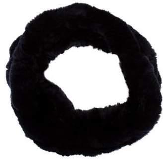 Fur Fur Snood Blue Fur Fur Snood