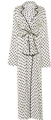 Caroline Constas Jade Long Robe