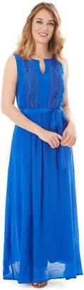 Apt. 9 Petite Gauze Crochet Maxi Dress