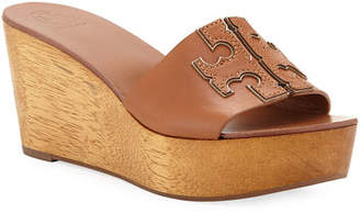Tory Burch Ines 80mm Wedge Slide Sandals