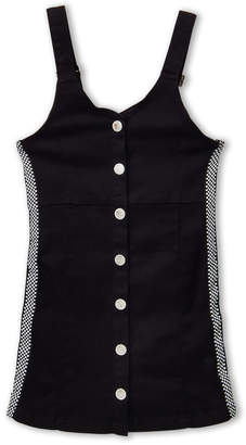 Pinc Premium Girls 7-16) Black Denim Overall Dress