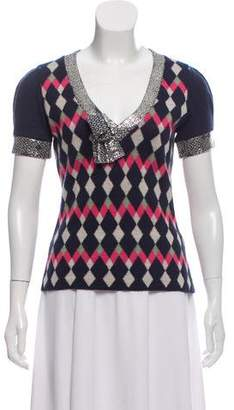 Kenzo Wool Patterned Sweater