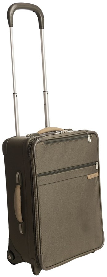 """Briggs & Riley One-Touch Carry-On Suitcase - Rolling, Expandable, 20"""""""