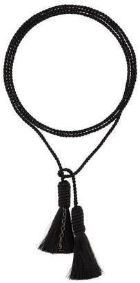 Saint Laurent fine tassel necklace
