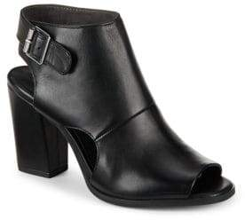 Seychelles Battery Oxblood Leather Booties