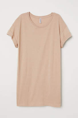 H&M Long T-shirt - Beige