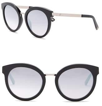 Web WE0196 Round 52mm Acetate Sunglasses