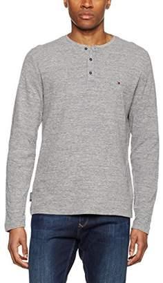 Tommy Hilfiger Men's BRAM Henley L/S RF Sweatshirt,X-Large