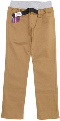 Crocs (クロックス) - crocs apparel ポケット切替 ウエストリブ ベルテッド パンツ ベージュ 110