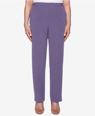 Alfred Dunner Smart Investments Pull-On Pants