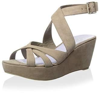 Delman Women's Clara Sandal $266 thestylecure.com