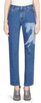 Peserico Horse Patch Boyfriend Jeans