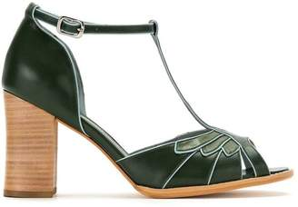 Sarah Chofakian panelled pumps