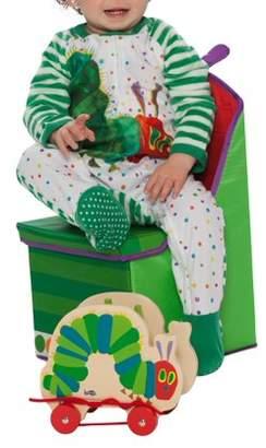 Eric Carle Baby Toddler Boy or Girl Unisex Very Hungry Caterpillar Microfleece Blanket Sleeper Pajamas
