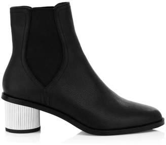 Rebecca Minkoff Darsea Cylinder Heel Leather Booties