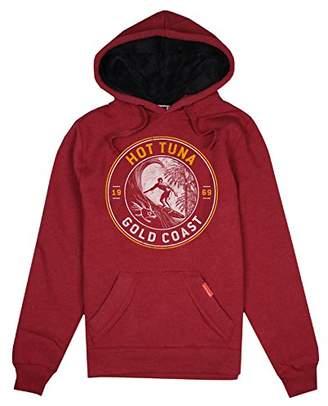 Hot Tuna Men's Gold Coast Emblem Hoodie, (Manufacturer Size: )