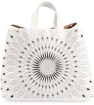 0272a7c9d4ef Large Studded Leather Leather Tote Bag - ShopStyle