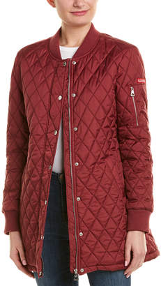 Urban Republic Thinfill Long Quilted Jacket