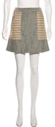 Billy Reid Tweed Mini Skirt w/ Tags