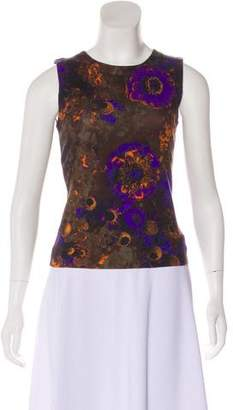 Akris Printed Sleeveless Top