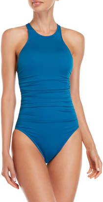 Miraclesuit Magicsuit By Danika Ruched Tank One-Piece Swimsuit