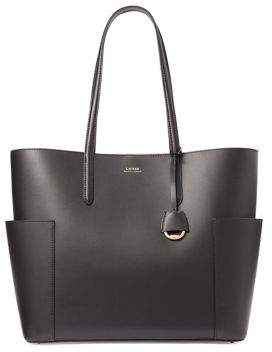 Lauren Ralph Lauren Large Leather Tote