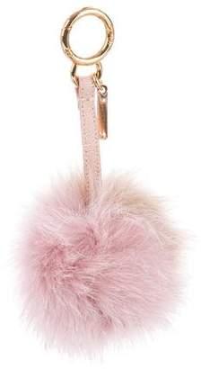 Fendi Fox Fur Pom-Pom Bag Charm