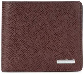 HUGO BOSS logo plaque wallet