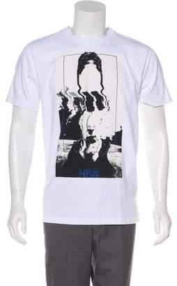 Hood by Air Graphic Print T-Shirt