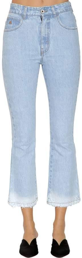 Kürzere Jeans Aus Denim