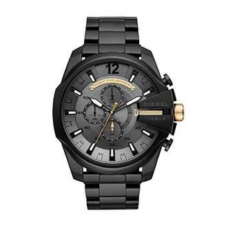Diesel Men's Mega Chief Quartz Watch with Stainless-Steel Strap