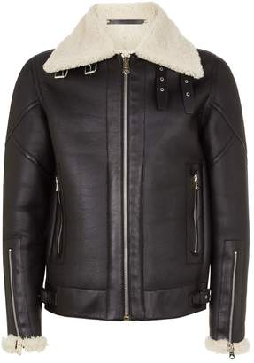 Paul Smith Leather Aviator Jacket