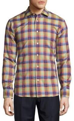 Robert Talbott Crespi Casual Button-Front Sportshirt