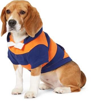 Ralph Lauren Striped Fleece Dog Hoodie