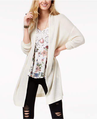 American Rag Juniors' Open-Front Cardigan, Created for Macy's