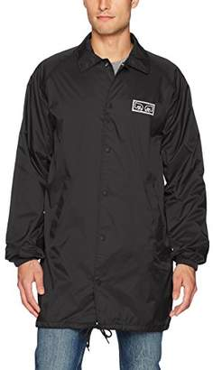 Obey Men's Eyes Coaches Trench Jacket