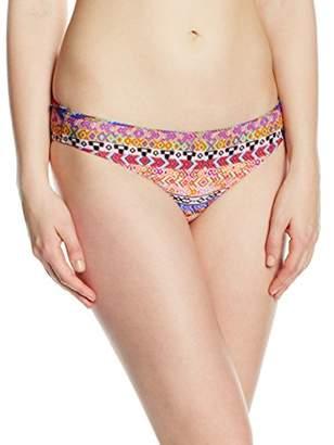 Saint Tropez Kiwi Women's Skort Aztec Bikini Bottoms - Multicoloured