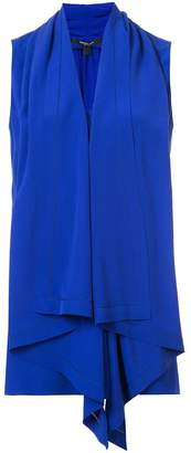 Derek Lam Sleeveless Handkerchief Blouse