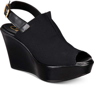 Callisto Breakdown Platform Wedge Sandals, Created for Macy's
