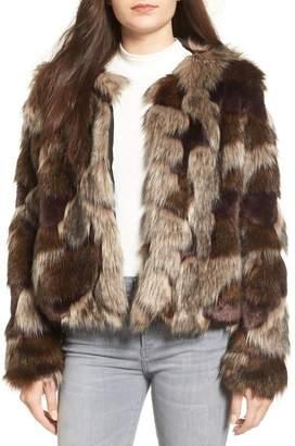 Tularosa Faux Fur Coat $220 thestylecure.com