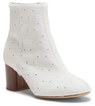 Rag & Bone Drea Genuine Calf Hair Block Heel Bootie