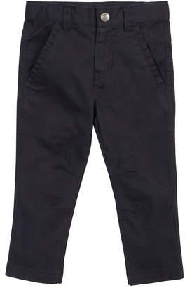 Petit Lem Woven Stretch-Cotton Pants, Size 2-6X