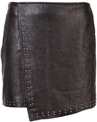 Joie asymmetric mini skirt