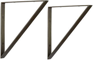 Rejuvenation Triangle Shelf Brackets