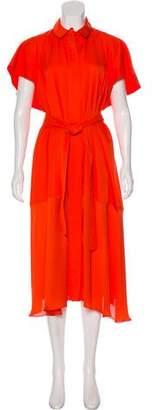 Maison Rabih Kayrouz Short Sleeve Midi Dress