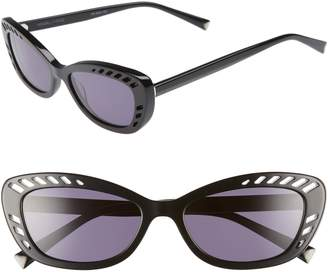 KENDALL + KYLIE Extreme 55mm Cat Eye Sunglasses