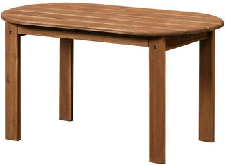 Linon Adirondack Teak Finish Coffee Table