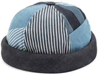 Beton Cire Miki patchwork sailor cap